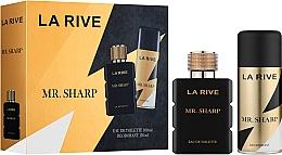 Voňavky, Parfémy, kozmetika La Rive Mr. Sharp - Sada (edt/100ml + deo/150ml)