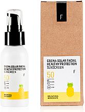 Voňavky, Parfémy, kozmetika Opaľovací krém na tvár SPF 50 - Freshly Cosmetics Healthy Protection Facial Sun Cream