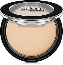 Voňavky, Parfémy, kozmetika Kompaktný matný púder - Aden Cosmetics Silky Matt Compact Powder