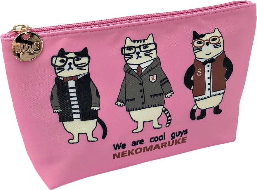 """Kozmetická taška """"Zvieratá čudáci"""", ružová - KillyS"""