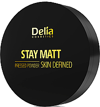 Voňavky, Parfémy, kozmetika Kompaktný zmatňujúci púder - Delia Stay Matt Skin Defined Pressed Powder