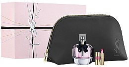 Voňavky, Parfémy, kozmetika Yves Saint Laurent Mon Paris - Sada (edp/90ml + lipstick/1.6g + pouch)
