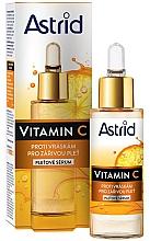 Voňavky, Parfémy, kozmetika Protivráskové sérum na tvár s vitamínom C - Astrid Vitamin C Anti-Wrinkle Serum