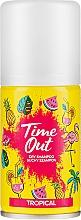 Voňavky, Parfémy, kozmetika Suchý šampón na vlasy - Time Out Dry Shampoo Tropical