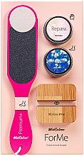 Voňavky, Parfémy, kozmetika Sada - MiaCalnea Oakis Set (h/cr/50ml+f/cr/50ml+grater+phone/stand )