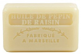 Voňavky, Parfémy, kozmetika Marselské mydlo s hroznovým olejom - Foufour Savonnette Marseillaise Huile de Pepin de Raisin