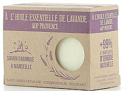 Voňavky, Parfémy, kozmetika Marseillské mydlo s levanduľovým olejom - Foufour Savon A l'Huile Essentielle de Lavande AOP Provence