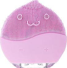 Voňavky, Parfémy, kozmetika Kefa na čistenie tváre, BR-030, ružová - Lewer Facial Cleansing Brush Pink