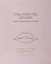 Voňavky, Parfémy, kozmetika Kolagénová maska na pery - Pierre Rene Medic Collagen Gel Lip Mask
