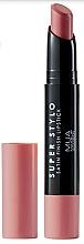 Voňavky, Parfémy, kozmetika Saténový rúž na pery - MUA Academy Super Stylo Satin Finish Lipstick