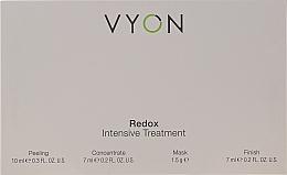 Voňavky, Parfémy, kozmetika Sada - Vyon Redox Intensive Tretment (peel/10ml + conc/7ml + mask/1.5g + finish/7ml)