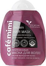"""Voňavky, Parfémy, kozmetika Proteínová maska na vlasy """"Proti vypadávaniu vlasov"""" - Cafe Mimi Protein Hair Mask"""
