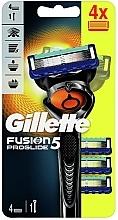 Voňavky, Parfémy, kozmetika Holiaci strojček so 4 vymeniteľnými kazetami - Gillette Fusion5 ProGlide