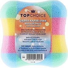 """Voňavky, Parfémy, kozmetika Špongia do kúpeľa """"štvorec"""" 30482, viacfarebná - Top Choice"""
