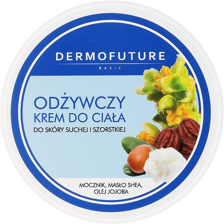 Výživná krém na telo na suchú a drsnú pokožku - DermoFuture