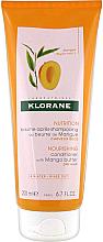 Voňavky, Parfémy, kozmetika Kondicionér na vlasy - Klorane Nourishing Conditioner With Mango Butter