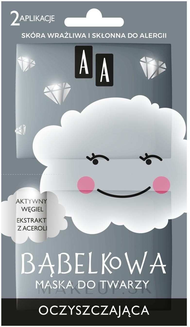 Čistiaca bublinová tvárová maska - AA Bubble Mask Cleansing Face Mask — Obrázky 2 x 4 g