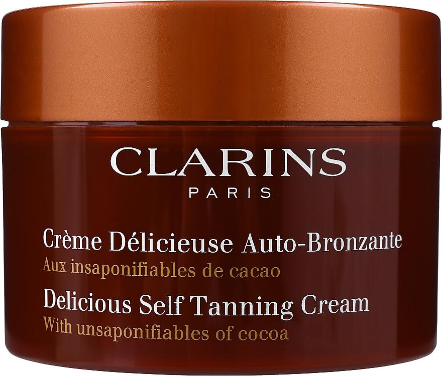 Krém - Clarins Delicious Self Tanning Cream