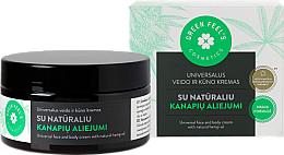 Voňavky, Parfémy, kozmetika Univerzálny krém na tvár a telo s prírodným konopným olejom - Green Feel's Universal Face And Body Cream