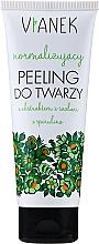 Voňavky, Parfémy, kozmetika Normalizujúci peeling na tvár - Vianek
