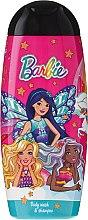 """Voňavky, Parfémy, kozmetika Šampón a sprchový gél 2v1 """"Barbie You Can Be A Dreamer"""" - Uroda For Kids Shampoo & Shower Gel"""