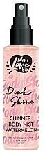 """Voňavky, Parfémy, kozmetika Hmla na telo """"Melón"""" - MonoLove Bio Shimmer Body Mist Watermelon Pink Shine"""