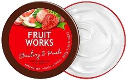 """Voňavky, Parfémy, kozmetika Olej na telo """"Jahody a pomelo"""" - Grace Cole Fruit Works Body Butter Strawberry & Pomelo"""