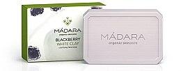 """Voňavky, Parfémy, kozmetika Čistiace mydlo """"Černice a biela hlina"""" - Madara Cosmetics Blackberry and White Clay Soap"""