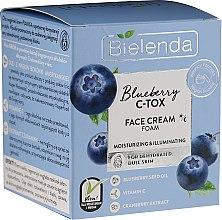 Voňavky, Parfémy, kozmetika Hydratačná a rozjasňujúca krémová pena na tvár - Bielenda Blueberry C-Tox Face Cream
