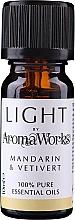"""Voňavky, Parfémy, kozmetika Esenciálny olej """"Mandarínka a Vetivert"""" - AromaWorks Light Range Mandarin and Vetivert Essential Oil"""