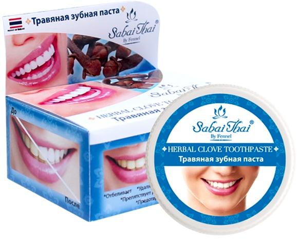 Zubná pasta s klinčekmi - Sabai Thai Herbal Clove Toothpaste