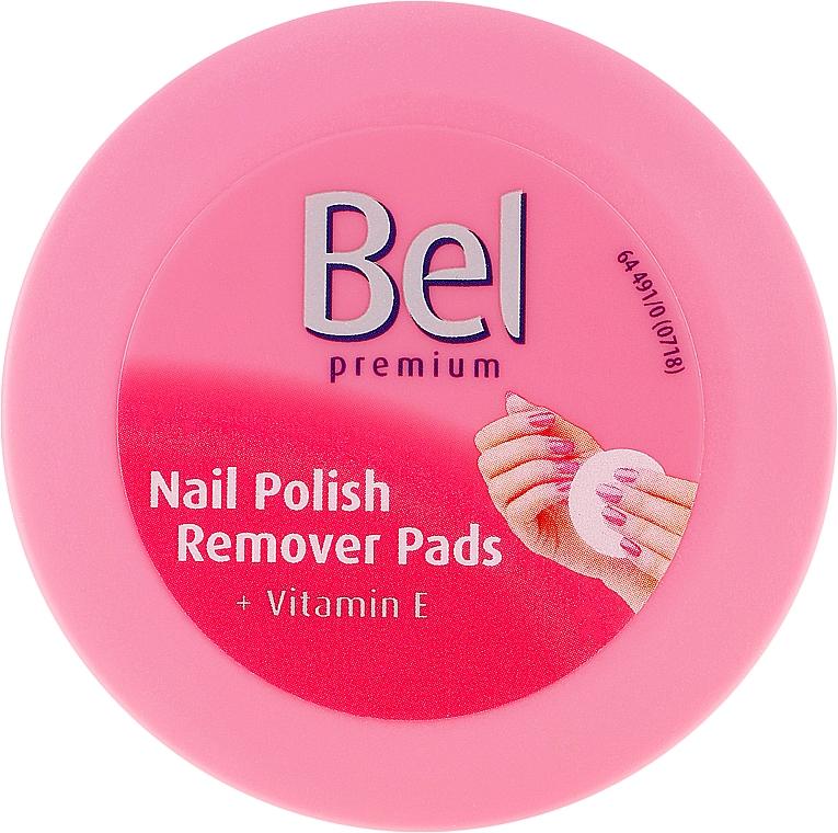 Kozmetické Odličovacie tampóny na odličenie nechtov - Bel Premium Wet Nail Polish Remover Pads  — Obrázky N1