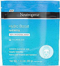Voňavky, Parfémy, kozmetika Hydrogélová maska na tvár - Neutrogena Hydro Boost Hydrating Hydrogel Mask