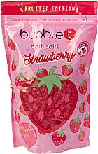 """Voňavky, Parfémy, kozmetika Soľ do kúpeľa """"Jahoda"""" - Bubble T Cosmetics Strawberry Bath Salt"""