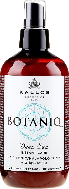 Sprej-tonikum na vlasy s okamžitým účinkom - Kallos Cosmetics Botaniq Deep Sea Instant Care Hair Tonic