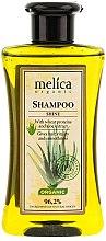 """Voňavky, Parfémy, kozmetika Šampón na vlasy """"Zdravý lesk"""" - Melica Organic Shine Shampoo"""