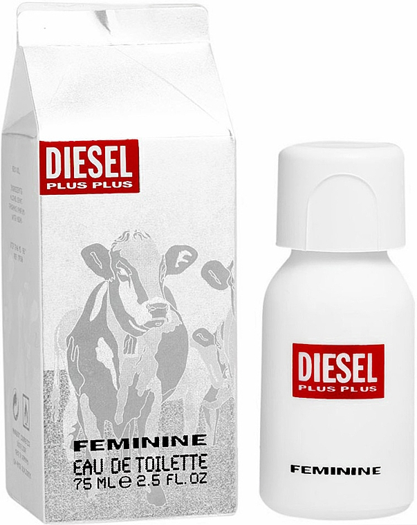 Diesel Plus Plus Feminine - Toaletná voda