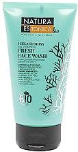"""Voňavky, Parfémy, kozmetika Osviežujúci gél na umyvanie """"Islandský mach"""" - Natura Estonica Iceland Moss Face Wash"""