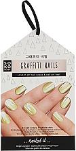 Voňavky, Parfémy, kozmetika Fólia na dizajn nechtov - Soko Ready Graffiti Nails