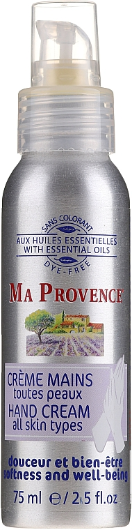 Krém na ruky - Ma Provence Hand Cream for All Skin Types — Obrázky N1