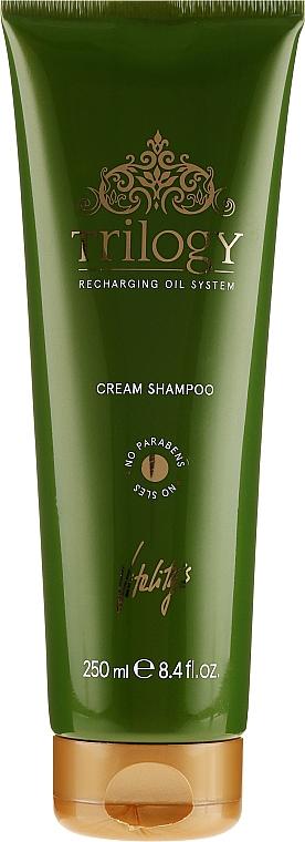 Výživný šampón pre vlasy - Vitality's Trilogy Cream Shampoo