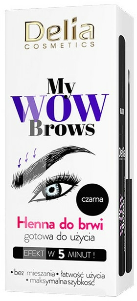 Henna na obočie - Delia My Wow Brows