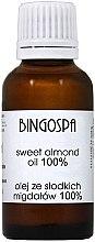 Voňavky, Parfémy, kozmetika Sladký mandľový olej - BingoSpa