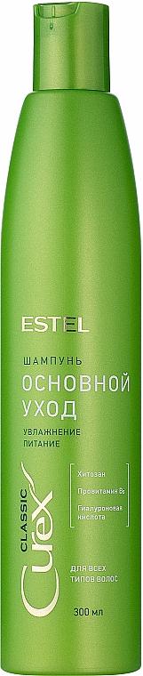"""Šampón """"Hydratácia a výživa"""" pre všetky typy vlasov - Estel Professional Curex Classic"""