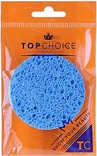 Voňavky, Parfémy, kozmetika Hubka pre odlíčenie s celulózi 6470 modrá - Top Choice