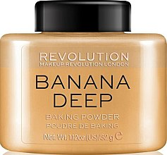 Voňavky, Parfémy, kozmetika Púder na tvár - Makeup Revolution Banana Deep Baking Powder