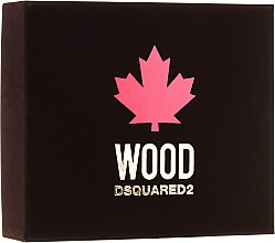 Voňavky, Parfémy, kozmetika Dsquared2 Wood Pour Homme - Sada (edt/50ml + sh/gel/50ml + ash/b/50ml)
