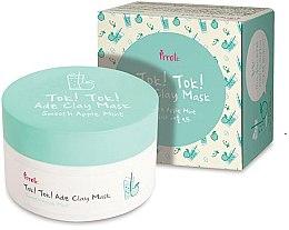Voňavky, Parfémy, kozmetika Hlinená maska s jablkom a mätou - Prreti Tok Tok Ade Clay Mask Smooth Apple Mint