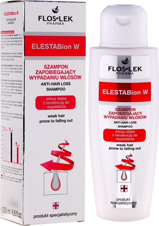 Šampón proti vypadávaniu vlasov - Floslek ElestaBion W Anti-Hair Loss Shampoo — Obrázky N1