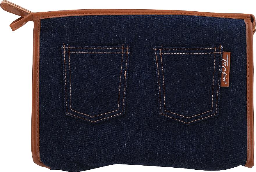 """Kozmetická taška """"Real Jeans. Denim"""", 94552, modrá - Top Choice — Obrázky N1"""